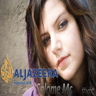 aljazeera interview with Salome MC