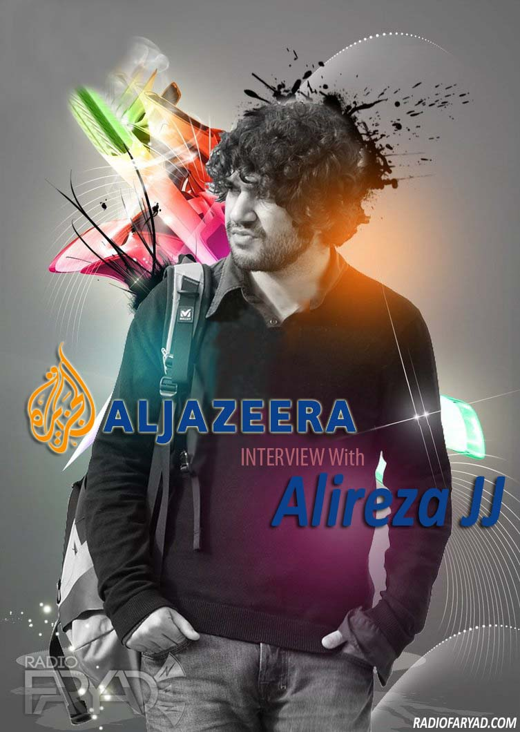 aljazeera interview with alireza jj